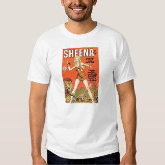 Sheena: Jungle Woman Comic book T Shirts