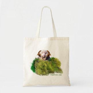 sheep budget tote bag