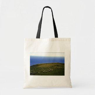 Sheep Flock, Christchurch, South Island Canvas Bag