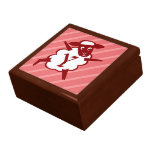 Sheep Monogram Letter Y Jewelry Boxes