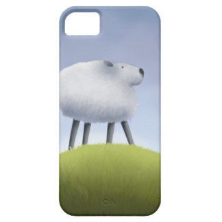 Sheep on the hill case for the iPhone 5