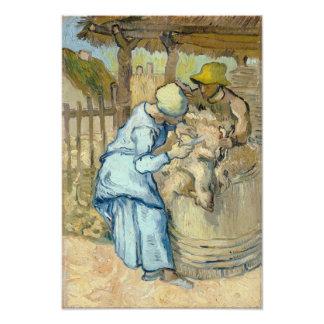 Sheep Shearer after Millet by Vincent Van Gogh Photo Print