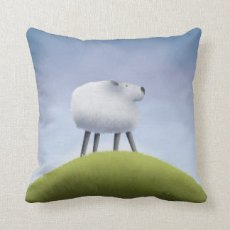 SHEEP - Throw Pillow