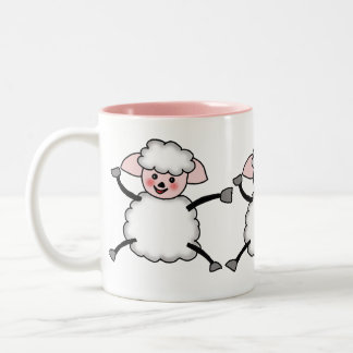 sheep Two-Tone coffee mug
