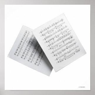 Sheet Music 3 Poster