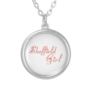 Sheffield Girl Silver Plated Necklace