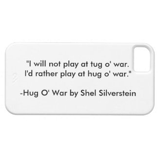 "Shel Silverstein's ""Hug O' War"" iPhone/iPad case"