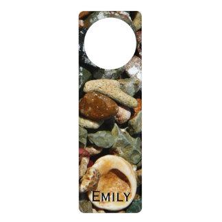 Shells, Rocks and Coral Beach Nature Theme Door Hanger