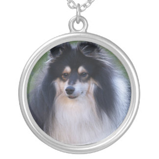 Sheltie Dog Necklace