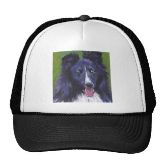 Sheltie Shetland Sheepdog fine art dog painting Cap