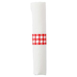 Shepherd's Check, stripe, Customize, Change color Napkin Band
