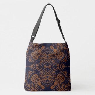 Sherbert Zebra Abstract Crossbody Bag