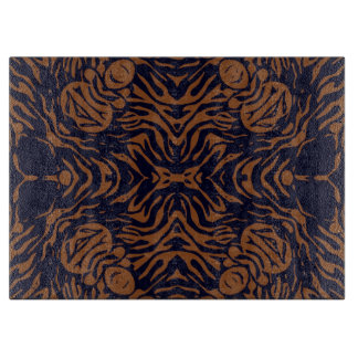 Sherbert Zebra Abstract Cutting Board