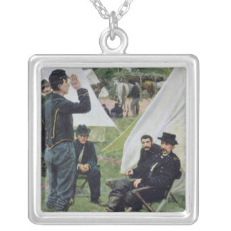 Sheridans First Interview with Rowand Silver Plated Necklace