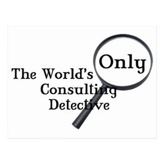 Sherlock Detective Postcard