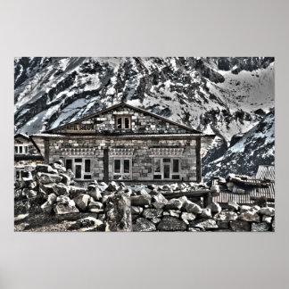 Sherpa Hotel - Nepal Himilayans Trekking & Travel Poster
