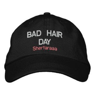 """Shertaraaa """"BAD HAIR DAY"""" Adjustable Cap"""