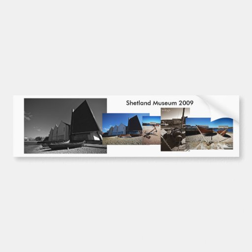 Shetland Museum Bumper Stickers