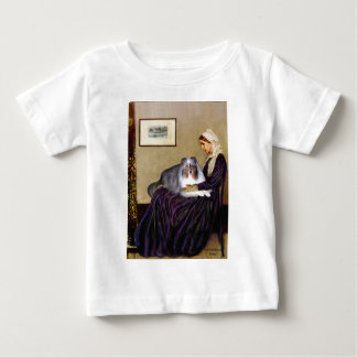 Shetland Sheepdog 17 - Whistlers Mother Baby T-Shirt
