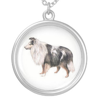 Shetland Sheepdog Dog Necklace