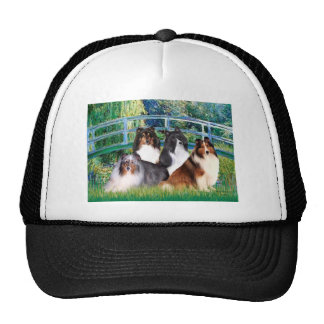 Shetland Sheepdog (four) - Bridge Cap