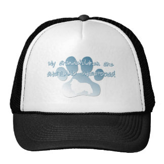Shetland Sheepdog Grandchildren Cap