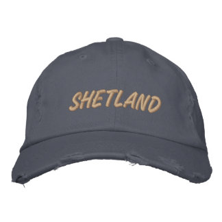 SHETLAND SHEPHERDS HAT EMBROIDERED HAT