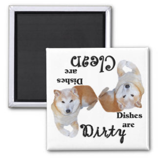 Shiba Inu Dishwasher Magnet
