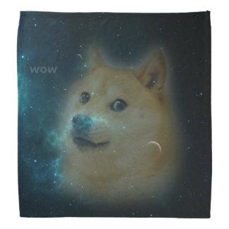 shibe doge in space kerchiefs