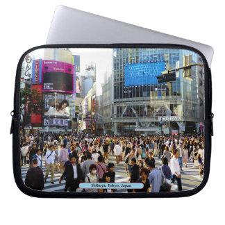 Shibuya, Tokyo, Japan Computer Sleeves
