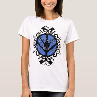 Shield Maiden in white T-Shirt