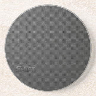Shift - Carbon Fiber Coaster