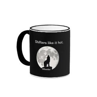 Shifters like it hot: WHEELER COLE Coffee Mug