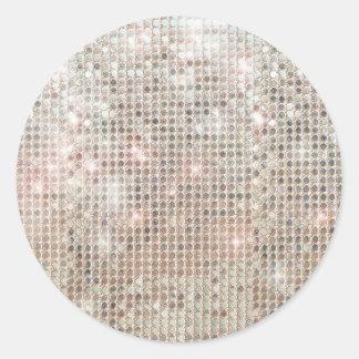 Shimmering Sequins Sticker