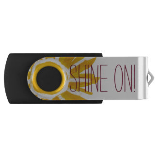 Shine on! USB flash drive