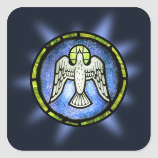 Shining Peace Dove WIndow Sticker