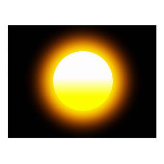 Shinning Sun Image Postcard