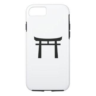 Shinto Gate Pictogram iPhone 7 Case