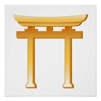 Shinto Symbol Poster