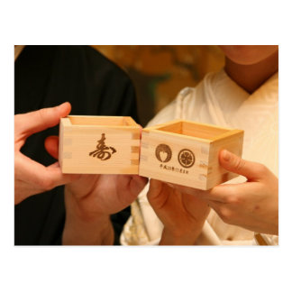 Shinto Wedding Partners Postcard