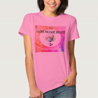 Shiny pink lady with creative juice! tee shirt