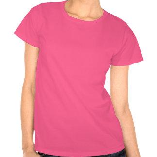 Shiny pink lady with creative juice! tshirt