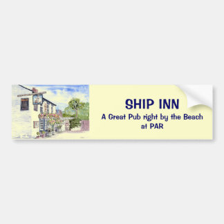 'Ship Inn (Par)' Bumper Sticker Car Bumper Sticker