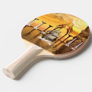 Ship Ping Pong Paddle