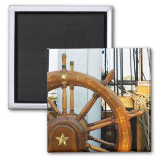 Ship'S Helm | Boston, Ma Magnet