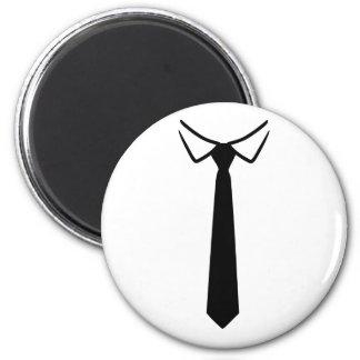 Shirt collar tie fridge magnets