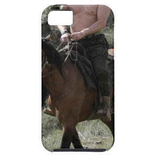 Shirtless Putin Rides a Horse iPhone 5 Covers