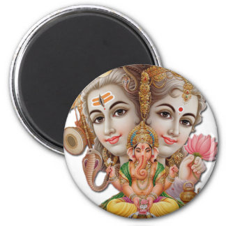 Shiva and family magnet