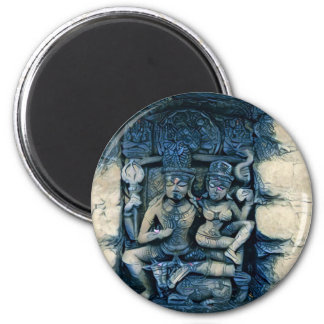 Shiva and Parvati Magnet