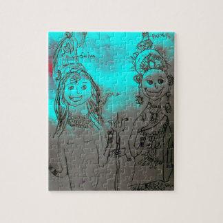 Shiva and Parvati Puzzle